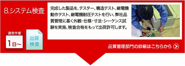 ご依頼から納品までの流れ08|有限会社ヤマカワ電機産業