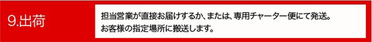 ご依頼から納品までの流れ09|有限会社ヤマカワ電機産業