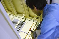 品質管理リーダー02|配電盤・制御盤・分電盤・計装盤製品の製作・製造を設計、板金、配電組立、検査まで一貫生産のヤマカワ電機