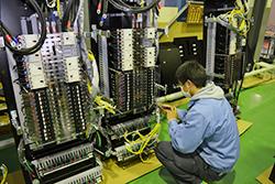 本社写真05|配電盤・制御盤・分電盤・計装盤製品の製作・製造を設計、板金、配電組立、検査まで一貫生産のヤマカワ電機
