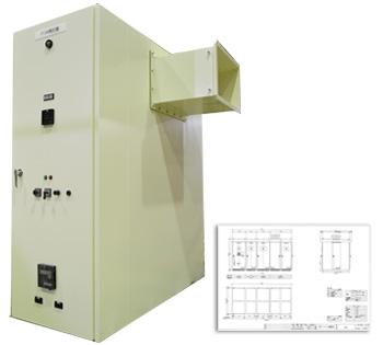 高圧配電盤 配電盤・制御盤・分電盤・計装盤製品の製作・製造を設計、板金、配電組立、検査まで一貫生産のヤマカワ電機